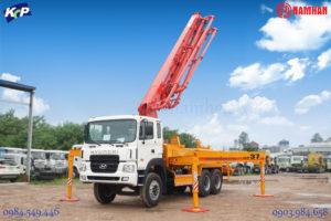 Xe bơm bê tông KCP - KCP Concrete Pumps Nam Hàn Group phân phối