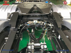 Phanh ABS kết hợp hệ thống thanh giằng đa điểm xe UD Trucks