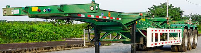 Sơ mi ro mooc Tianjun 3 trục 40 feet Công ty TNHH Nam Hàn nhập khẩu từ năm 2014