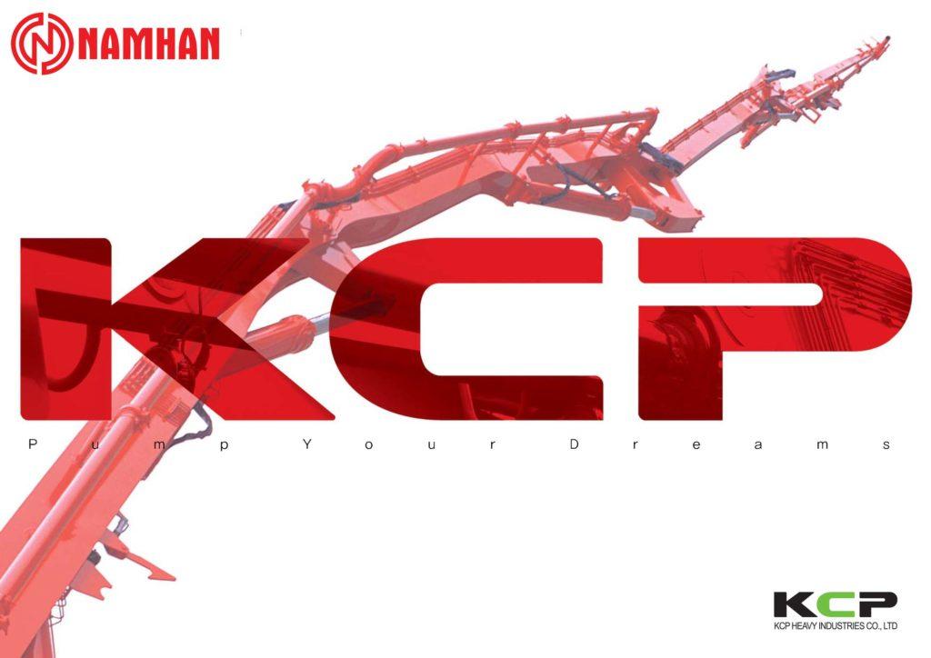 Thương hiệu bơm bê tông KCP Công ty TNHH Nam Hàn phân phối
