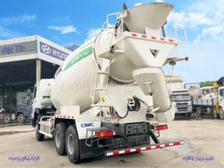 Xe trộn bê tông 12m3 12 khối Howo Hovo 2019 nhập khẩu