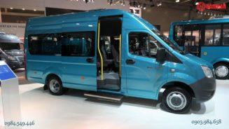 Xe khách 17 chỗ Gaz Nga Xe khách minibus 19 chỗ
