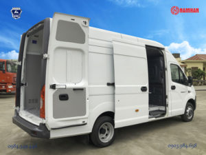 Xe tải Van Gaz Nga - Gazelle Next van thể tích thùng hàng đến 13,5 khối